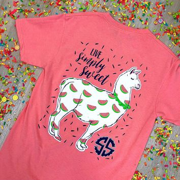"*Closeout* Simply Southern "" Happy Llama"" Limited Edition"