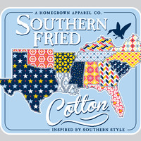 Quilted South Decal – Southern Fried Cotton