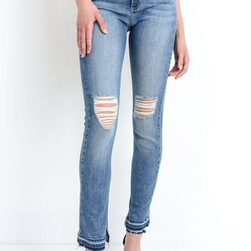 High Waisted Denim