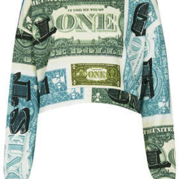 Dollar Crop Sweat - Jersey Tops  - Clothing