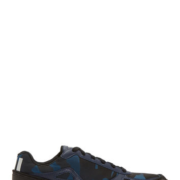 Raf Simons X Sterling Ruby Blue And Black Adidas Edition Bounce Sneakers