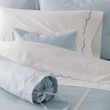 Plisse Easy-Care Bedding by Matouk