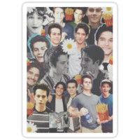 Dylan O' Brien and Tyler Posey/ Sciles Collage