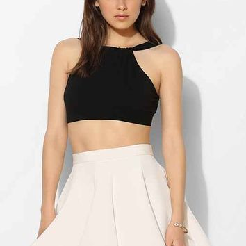 Keepsake All Through The Night Full Circle Skirt- Ivory L