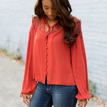 Some Days Lovin' Sherry Blouse