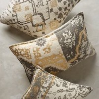 Copacati Throw Pillow by Anthropologie White