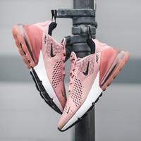nike air max 270 pink women casual sports sneaker
