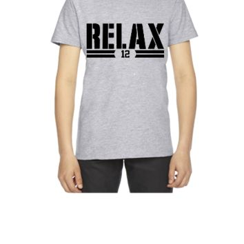 AARON-SAYS-RELAX - Youth T-shirt