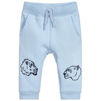 Kenzo Baby Blue 'Lion' Printed Sweatpants (unisex)