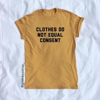 CLOTHES≠CONSENT