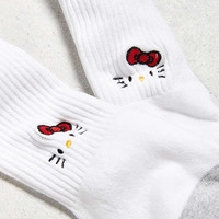 Hello Kitty Face Sport Sock | Urban Outfitters