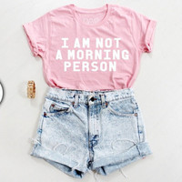 Pink Print T-Shirts Tee for Women 5