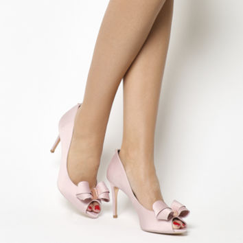 Ted Baker Vylett Peep Toe Heels Light Pink - High Heels