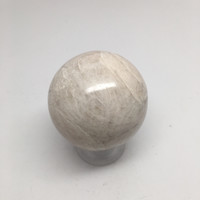 204.2 Grams Natural Handmade Gemstone Moonstone Egg From India, IE96