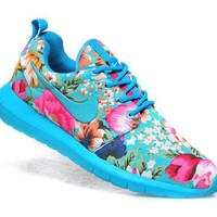 """""""NIKE"""" Trending Fashion Floral Print Casual Sports Shoes"""