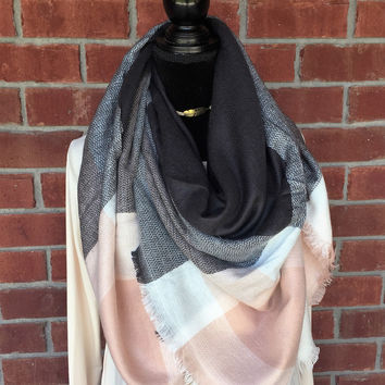 Cool Days Blush Scarf