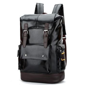 new bag 062917 mens fashion high capacity backpack school student book double shoulder bag