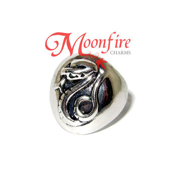 WIZARDING WORLD Slytherin House Snake Mascot Ring