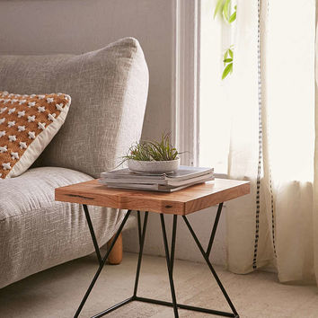 Cain Side Table - Urban Outfitters