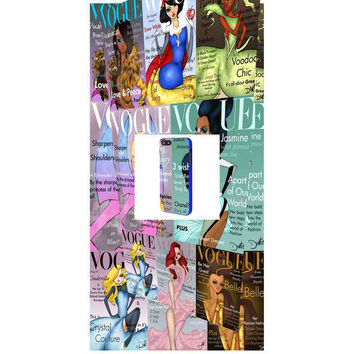 Vogue Disney Princess iPhone 5 Case Available for iPhone 5 iPhone 5s iPhone 5c iPhone 4/4s