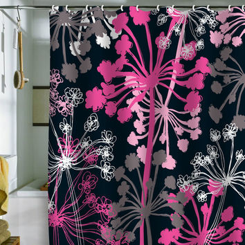 DENY Designs Rachael Taylor Cow Parsley Shower Curtain