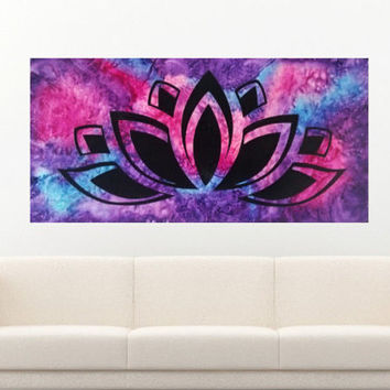 Lotus Art, Melted Crayon Art, Spiritual Art, Abstract Art, Yoga Art, Buddha Art, Symbol Art, Indonesian Art, Chakra Art, Meditation Art