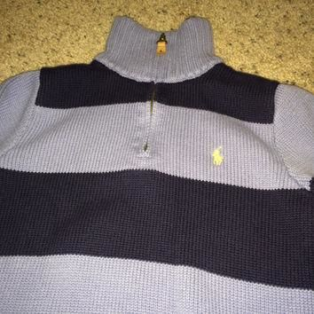 Sale!! Vintage Polo Ralph Lauren casual sweater kids' sweater size Medium (10-12) Free