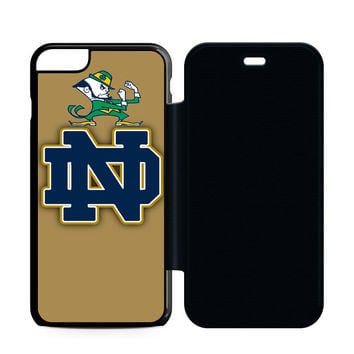 Rare Notre Dame Fighting Irish Flip Case iPhone 6 | iPhone 6S | iPhone 6S Plus  Case