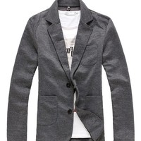 West Street Haku Men's Classic Causal Blazer Suit Jacket