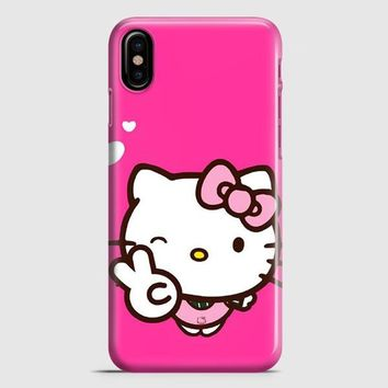 Hello Kitty Girl iPhone X Case