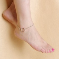 Jewelry New Arrival Shiny Gift Sexy Ladies Cute Accessory Summer Stylish Metal Chain Anklet [6768799239]