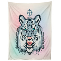 Chobopop Snow Tiger Tapestry