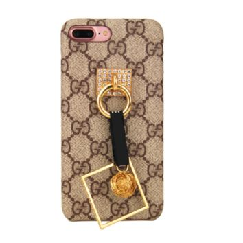 GUCCI print phone shell phone case for Iphone 6/6s/6p/7p/7