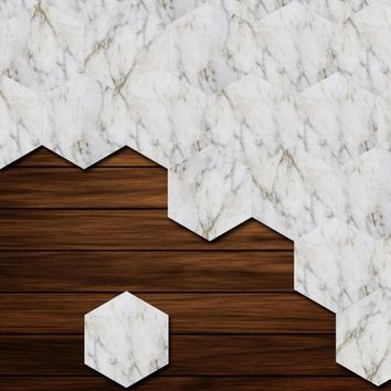 Modern Marble Self Adhesive Wallpapers for Bathroom Kitchen Cupboard Table Wall Contact Paper Wall Stickers 1567