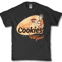Carols homemade cookies the walking dead season 4 adult funny t shirt mens womens