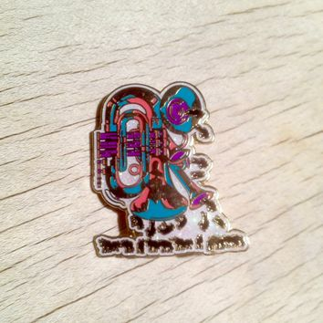 Wildabeast - Elephants & Horns Blue Edition LE100 Hatpin