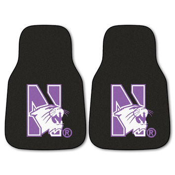 Northwestern Wildcats NCAA Car Floor Mats (2 Front)