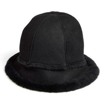 DCCK8X2 UGG? Australia 'City' Genuine Shearling Bucket Hat | Nordstrom
