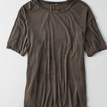 Don't Ask Why Slouchy T-Shirt, Black