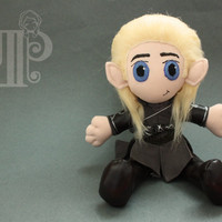 Legolas The Hobbit Lord of the Rings Plush Doll Plushie Toy Orlando Bloom
