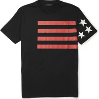 Givenchy Stars & Stripes Printed T-Shirt