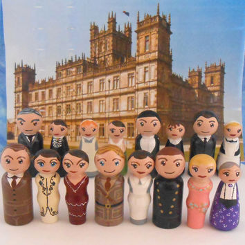 Downton Abbey Peg People