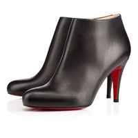 Christian Louboutin Cl Belle Black Leather Ankle Boots 3140504bk01 -
