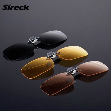 Sireck Polarized Sunglasses Clip Tide Fishing Driving Sports Sun Glasses Men Women Hiking Cycling Glasses Fishing Eyewear