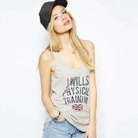 J.Wills Physical Training UK Flag Graphic Tank Top