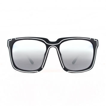 KTZ Contemporary D-shape Sunglasses - 50% OFF