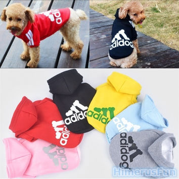 Pet Puppy Clothes Winter Coat Cat Dog HOODIES Sweater Clothes Costume Jacket = 5987822337