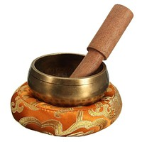 Handmade Buddha Tibet copper Singing Bowl