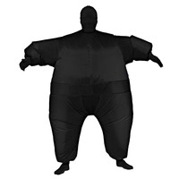 Black Inflatable Suit Costume - Adult (Blue)
