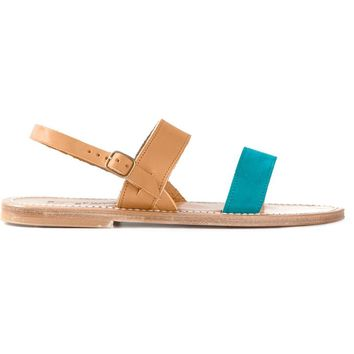 K. Jacques colour block sandals